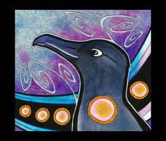 Sooty Albatross as Totem by Ravenari