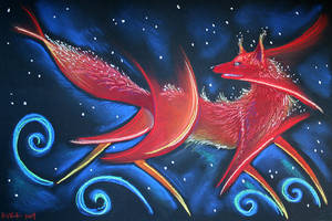 Teumessian Fox by Ravenari