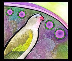 Princess Parrot as Totem by Ravenari
