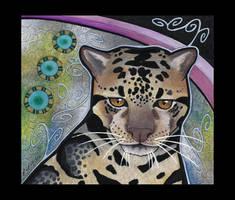 Bornean Clouded Leopard Totem by Ravenari