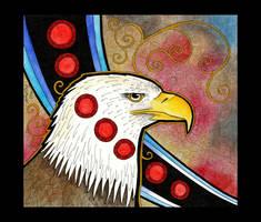 Bald Eagle as Totem by Ravenari