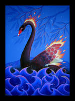 Black Swan as Firebird - Redux by Ravenari