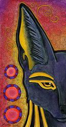 Anubis - Mini-Totem by Ravenari