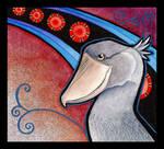 Shoebill Stork as Totem by Ravenari