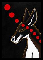 Red Kangaroo as Totem Redo by Ravenari