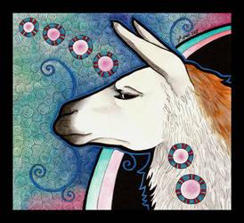 Llama as Totem by Ravenari