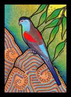Paradise Parrot as Totem by Ravenari