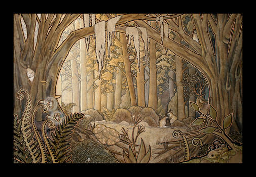The Bronze Forest by Ravenari