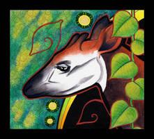 Okapi as Totem by Ravenari