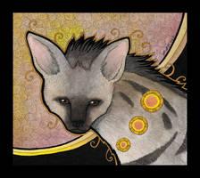 Aardwolf as Totem by Ravenari