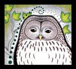 Ural Owl as Totem by Ravenari
