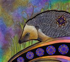 Hedgehog as Totem by Ravenari
