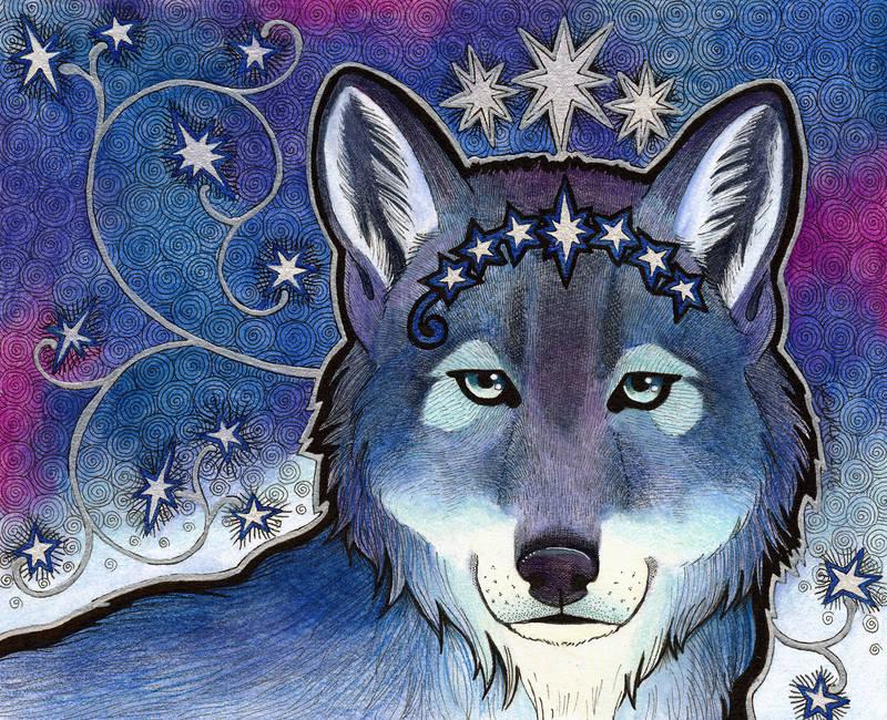 Star Wolf by Ravenari