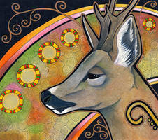 Roe Deer as Totem by Ravenari