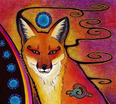 Silvia's Fox (as Totem) by Ravenari
