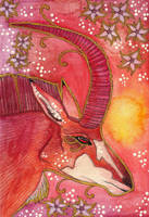 Rose Series - 05 Sable Antelope by Ravenari