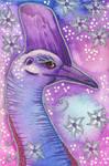 Violet Series - 02. Cassowary by Ravenari