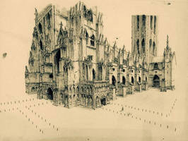 Canterbury cathedral finishd by hipple25
