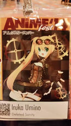 My Badge from Anime Fest'14 by lexaeusblanka