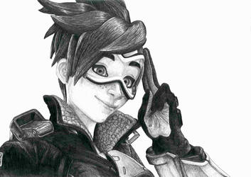 Overwatch Portrait 2 by sdbillustrations