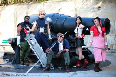 Final Fantasy VII Group by negativedreamer