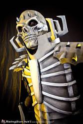 Skull knight up close by negativedreamer