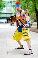 Wakka from Final Fantasy X Debut by negativedreamer
