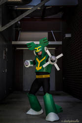 Tornado Man from Megaman 9 by negativedreamer