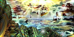 TOWARD HEAVENLY SPHERES by DorianoArt