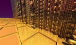 DorianoArt 2 - GOLDEN SPACE PALACE by DorianoArt