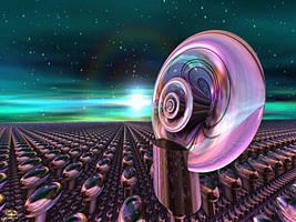 LIOBJA Space Project - Radar Resonances by DorianoArt