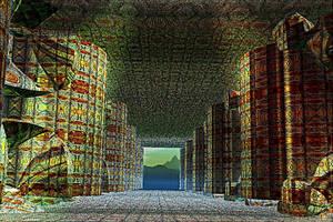 Persepolis  Palace by DorianoArt