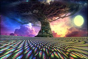 The Storm Tree by DorianoArt