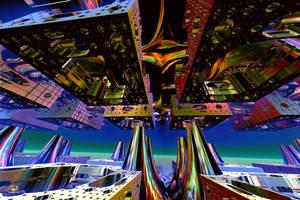 Space Mandelbulb 3D Construction by DorianoArt
