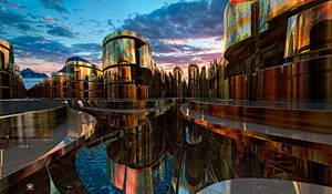 BIONOVOXIA ( Sea Interport) by DorianoArt