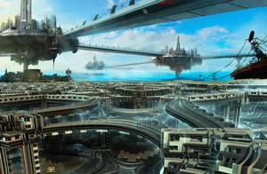 Space-Docks by DorianoArt