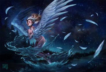 Swan transformation by AliciaDeAndres