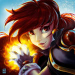 Lina Inverse tribute by AliciaDeAndres