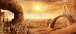 The desert mystic oracle by Antonio-Figueiredo