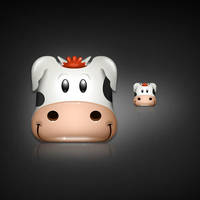MOOO iPhone App Icon by dellustrations