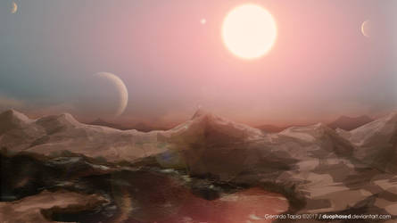 Trappist-1 planet by Duophased