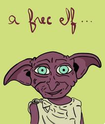 Dobby (Harry Potter fan art) by Eya666