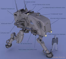 Prowler Mech (FR I) by Quesocito