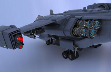 Iron Fist Dropship II by Quesocito
