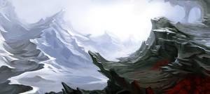 Glaciers Path by Der-Reiko