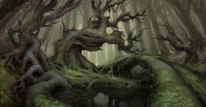 Nightbanes Forest by Der-Reiko