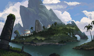 fishermans island by Der-Reiko
