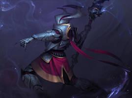 Knight summoner by Der-Reiko