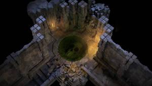 Castlemark Ruins (interieur) by Der-Reiko