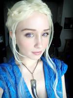 Daenerys Targaryen Cosplay Makeup by Jellyfish-Soup